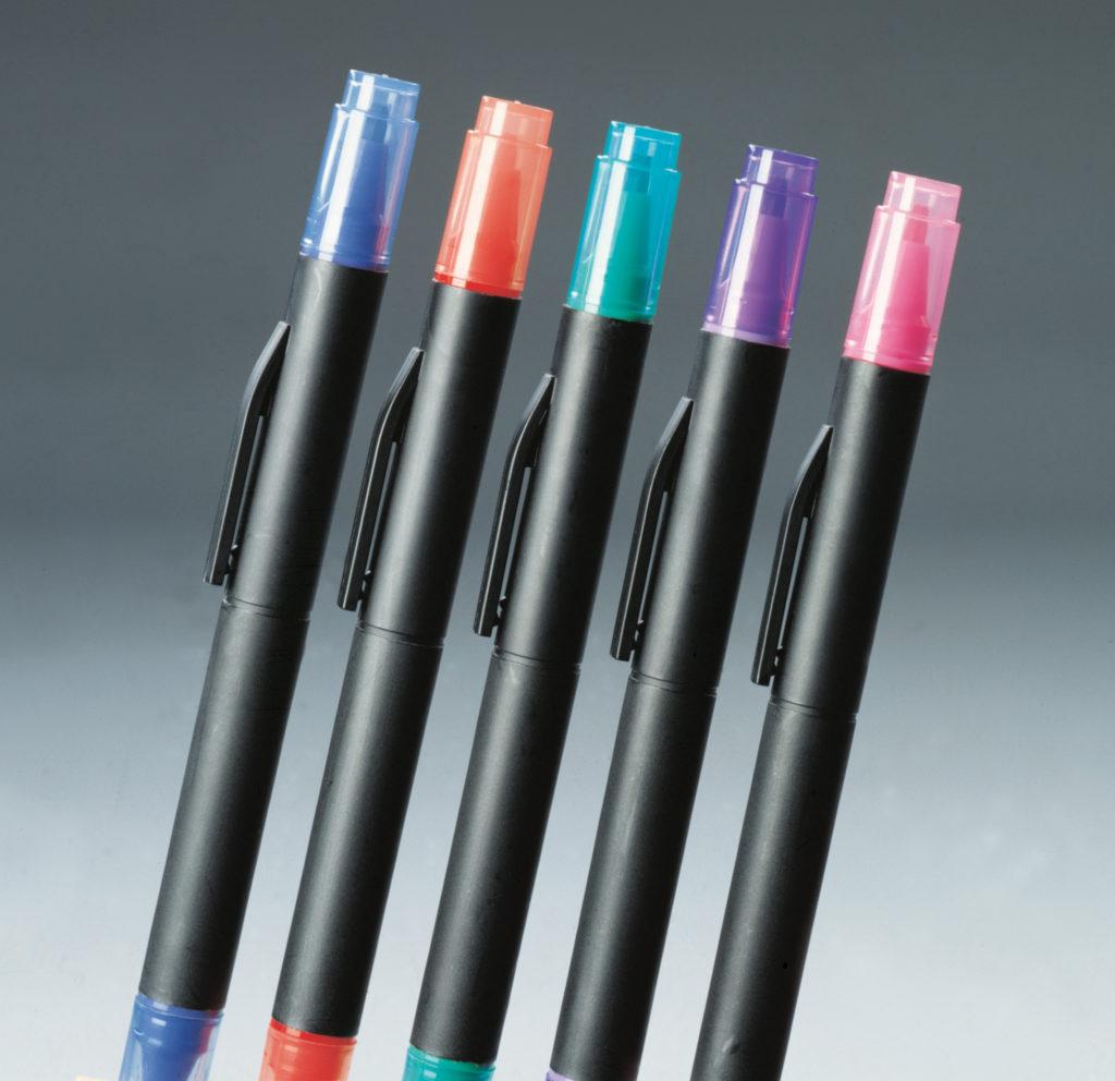 Itoya CL-10BP-BK Doubleheader Calligraphy Marker Black